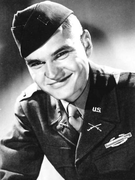 Lt. Paul Fussell. Photograph taken in Paris, circa 1945.