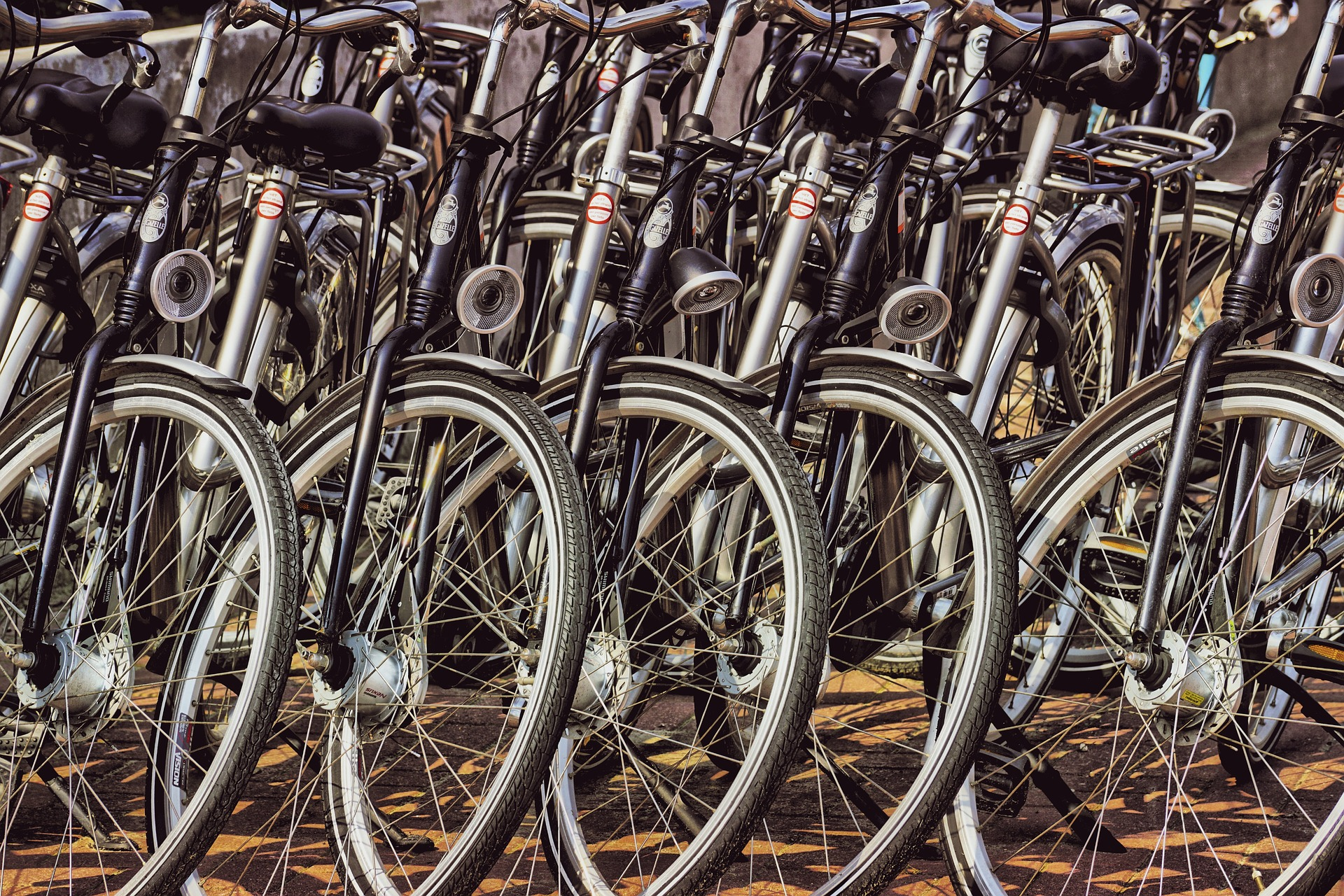 Get thee to a bicycle rack.