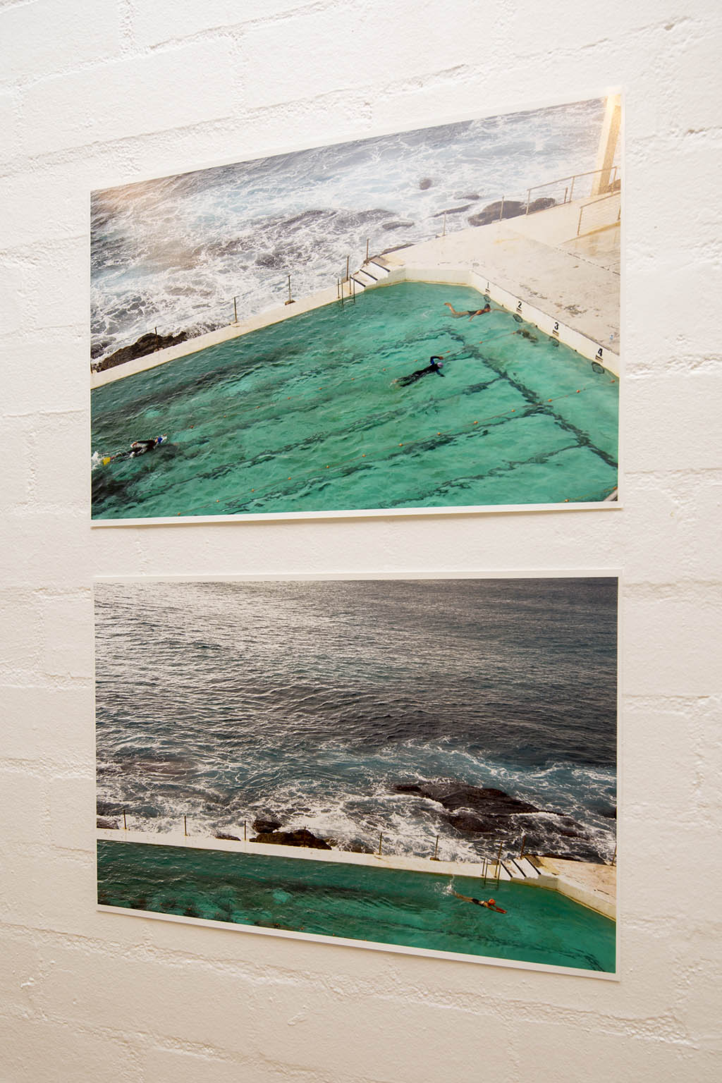 Susan Henderson, A sea of contrasts 1 and 2 2008, inkjet prints, 33.0 x 48.0cm