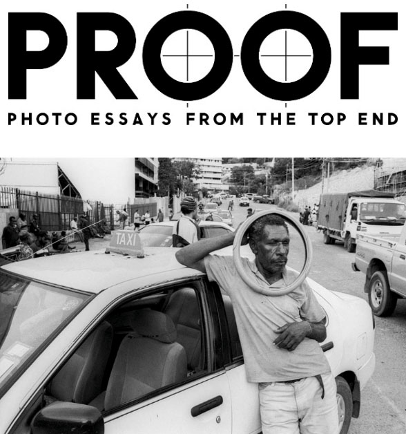 Taxi Driver , Port Moresby, PNG (2009/16) (inkjet photograph from 35mm b&w negative)