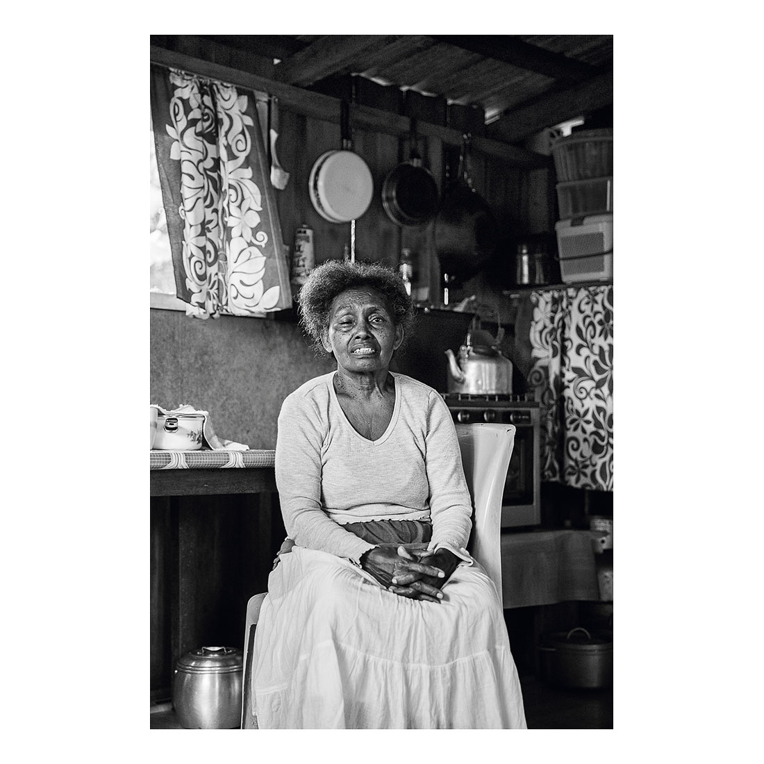 #30 Namo Lae Lae, Malaita, Solomon Islands  (2016).  Archival pigment print on Ilford paper. Exhibition print 36cm x 24cm. Different sizes available.