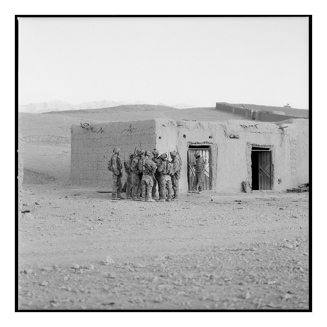 Briefing #02   (2011) Archival pigment prints on Ilford paper 40cm x 40cm | Edition of 25 + 3 Artist Proofs 100cm x 100cm | Edition of 10 + 3 Artist Proofs