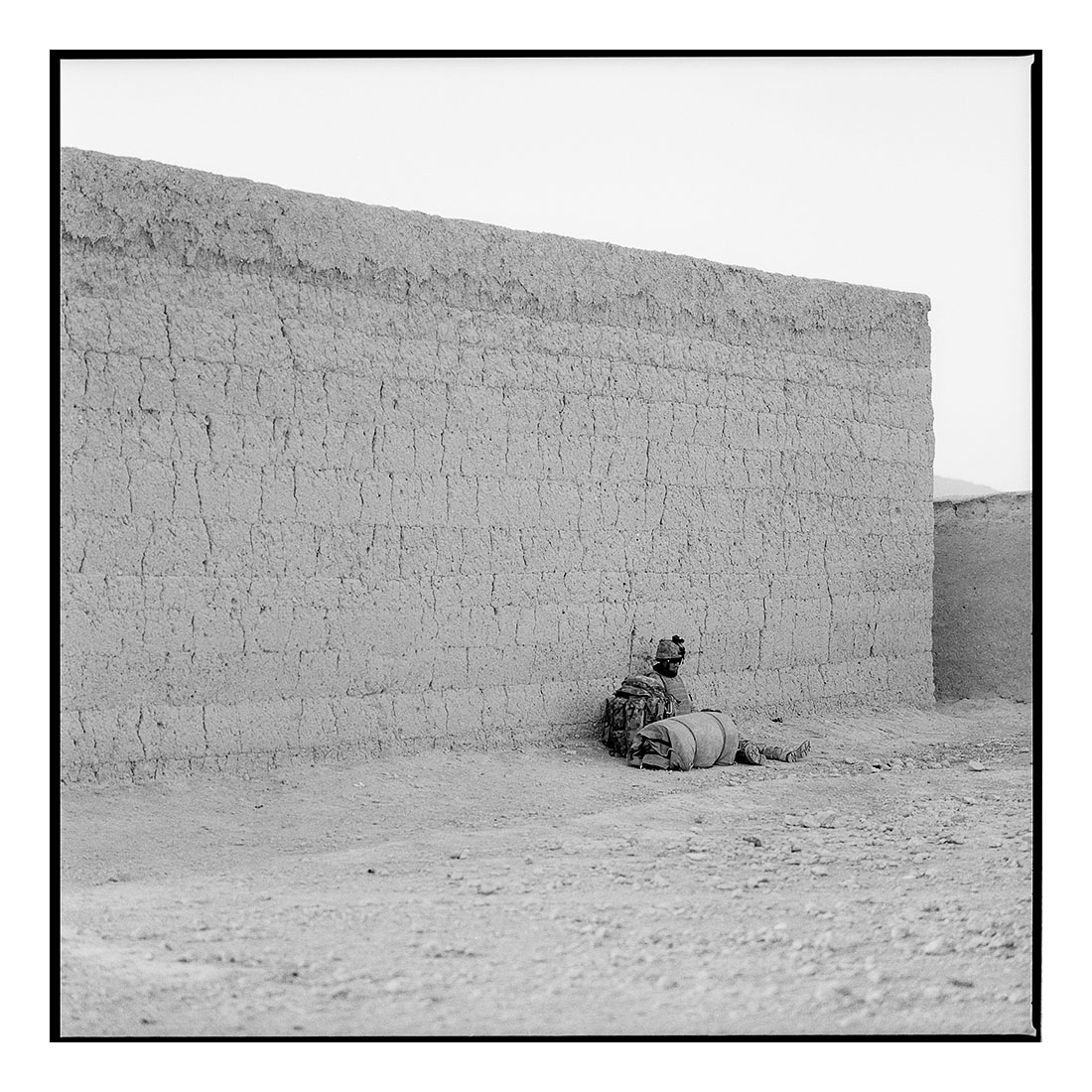 Mud Wall   (2011) Archival pigment prints on Ilford paper 40cm x 40cm | Edition of 25 + 3 Artist Proofs 100cm x 100cm | Edition of 10 + 3 Artist Proofs