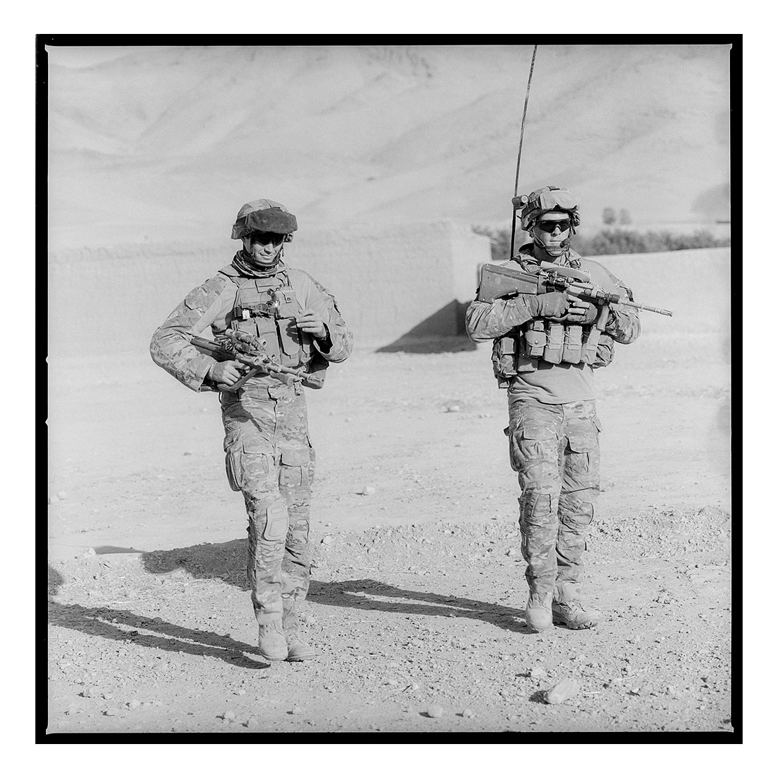 Patrol   (2011) Archival pigment prints on Ilford paper 40cm x 40cm | Edition of 25 + 3 Artist Proofs 100cm x 100cm | Edition of 10 + 3 Artist Proofs