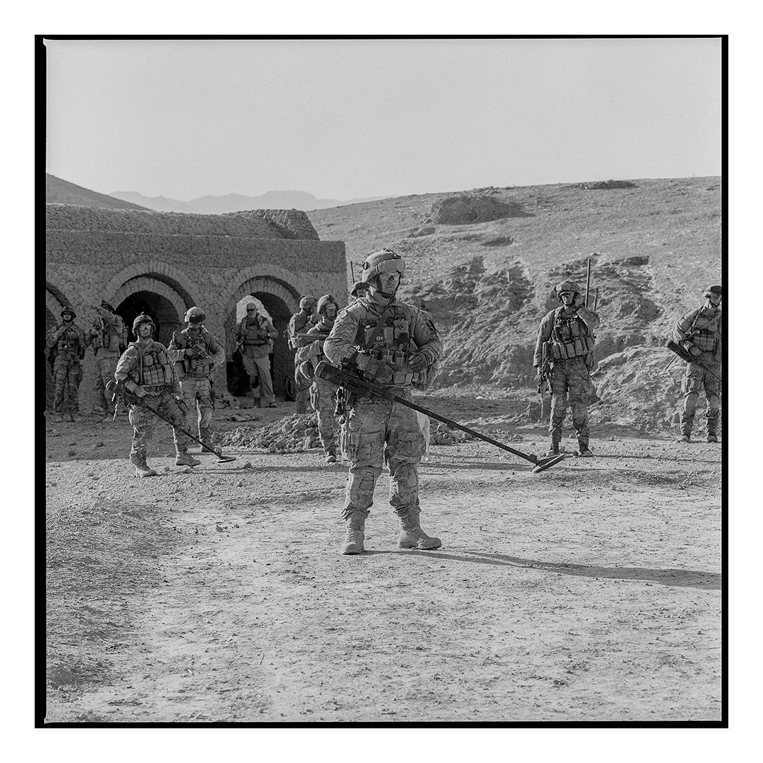 Start of Patrol   (2011) Archival pigment prints on Ilford paper 40cm x 40cm | Edition of 25 + 3 Artist Proofs 100cm x 100cm | Edition of 10 + 3 Artist Proofs