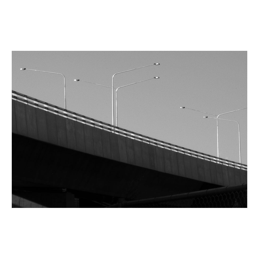 Bridge and Street Lights   (2017) Halftone print 91cm x 122cm dition of 1 + 1AP