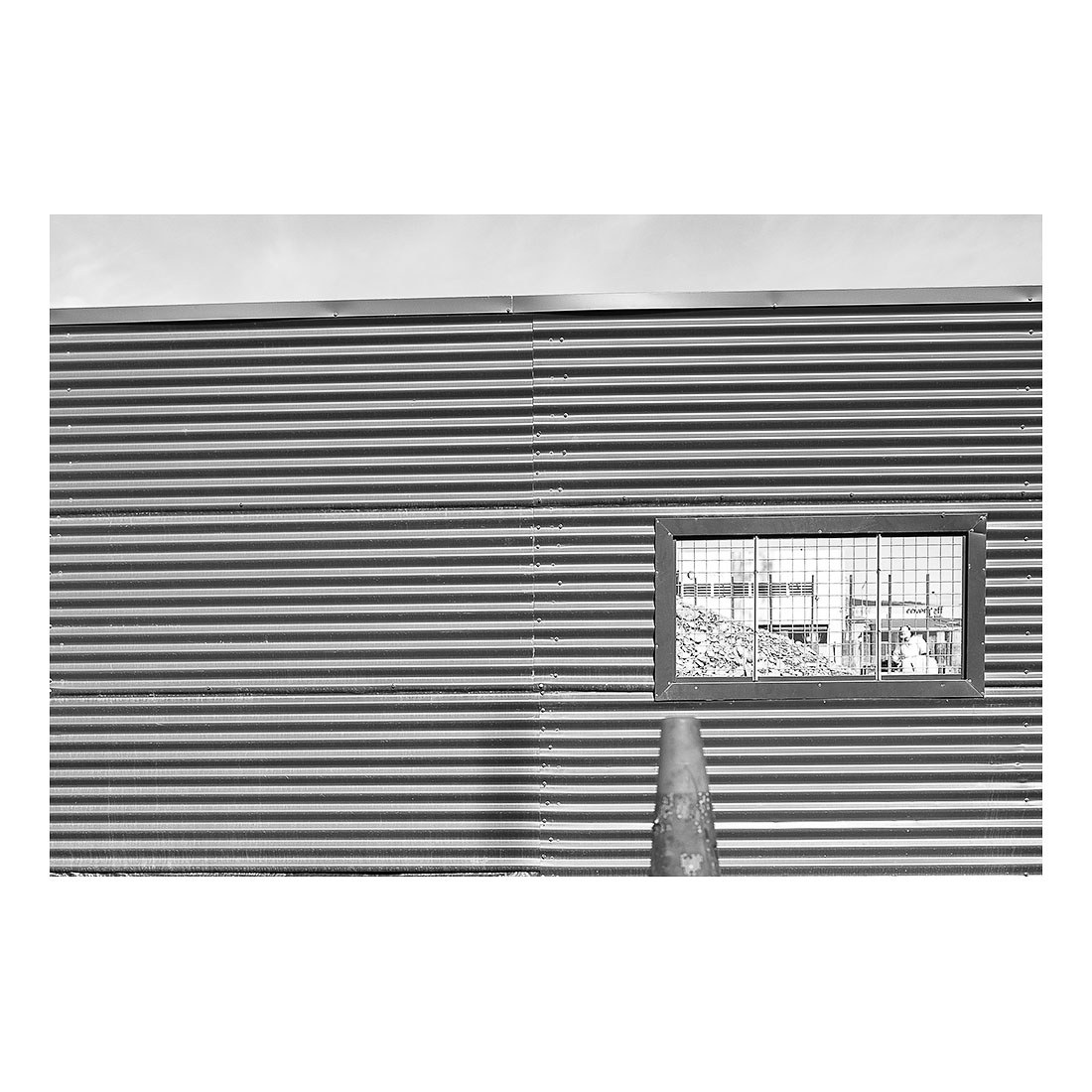 Corrugated   (2015, printed 2017) Chromogenic print 15cm x 20cm Open Edition
