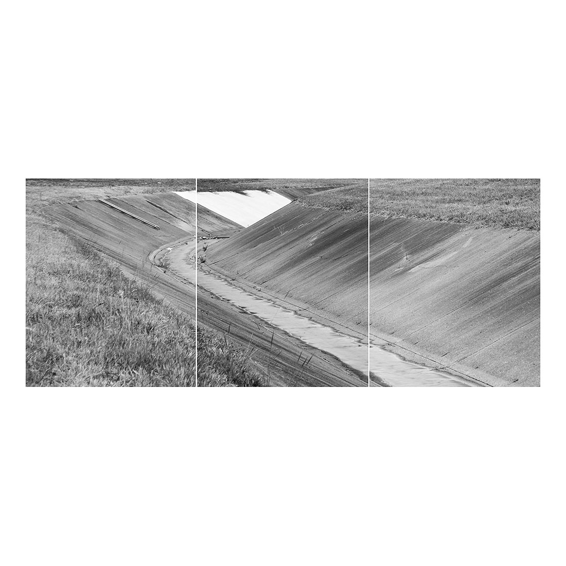 Stormwater   (Triptych) (2017) Halftone print 122cm x 273cm Open Edition