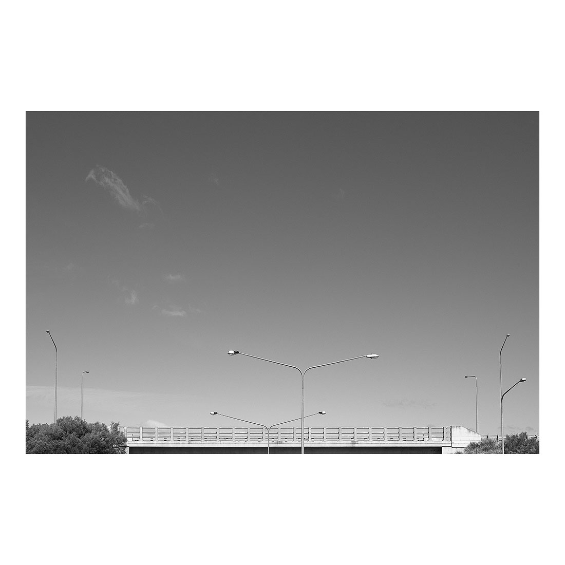 Street Lights and Sky   (2017) Chromogenic print 30cm x 45cm Open Edition