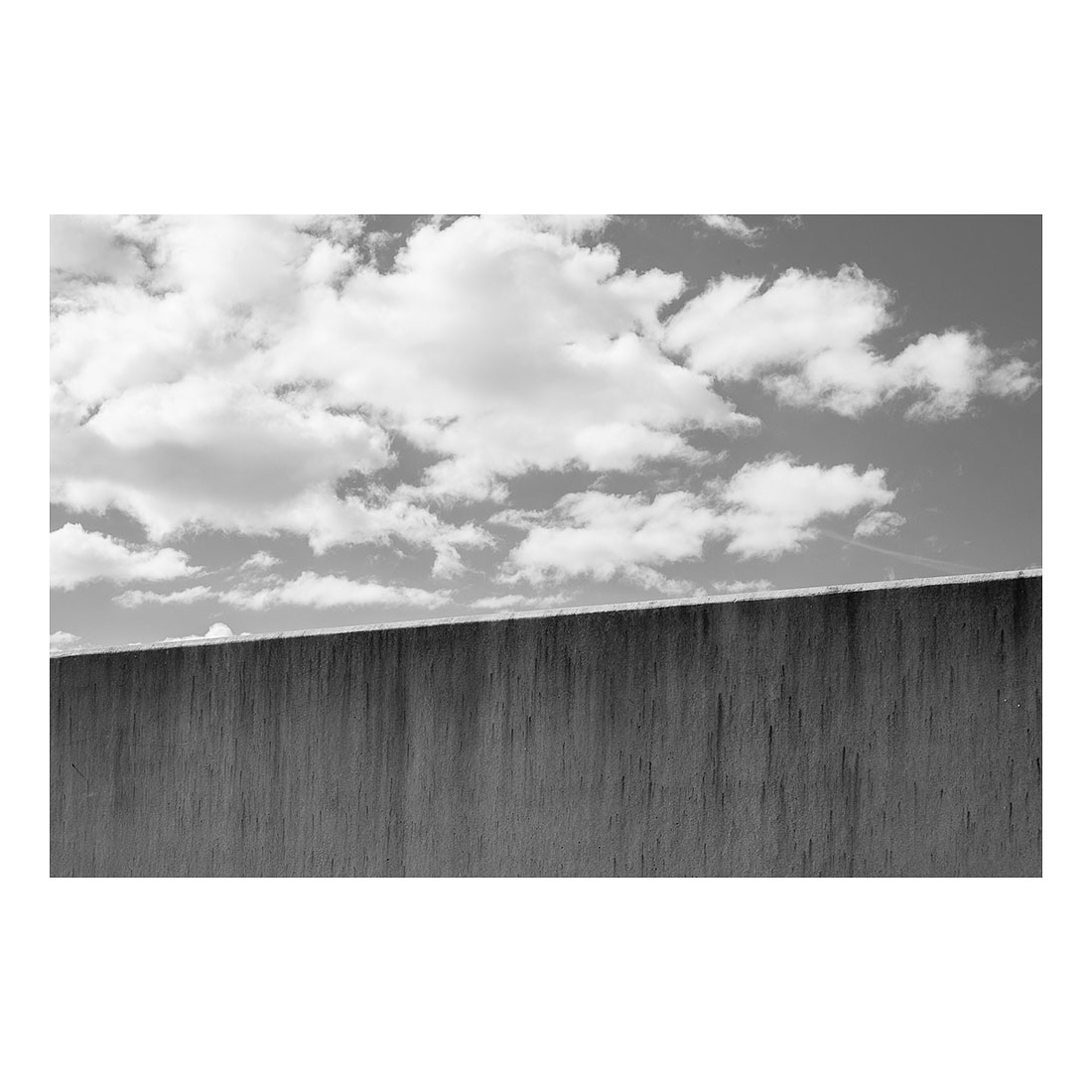 Wall and Sky   (2017) Chromogenic print 30cm x 45cm Open Edition