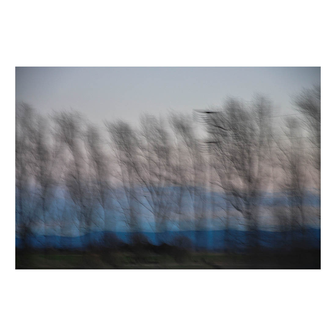 Fleeting View Through Window #02   (2017) Archival pigment print on Japanese Gampi paper. 15cm x 22.5cm (image) 35cm x 28cm (paper) Ed. of 10