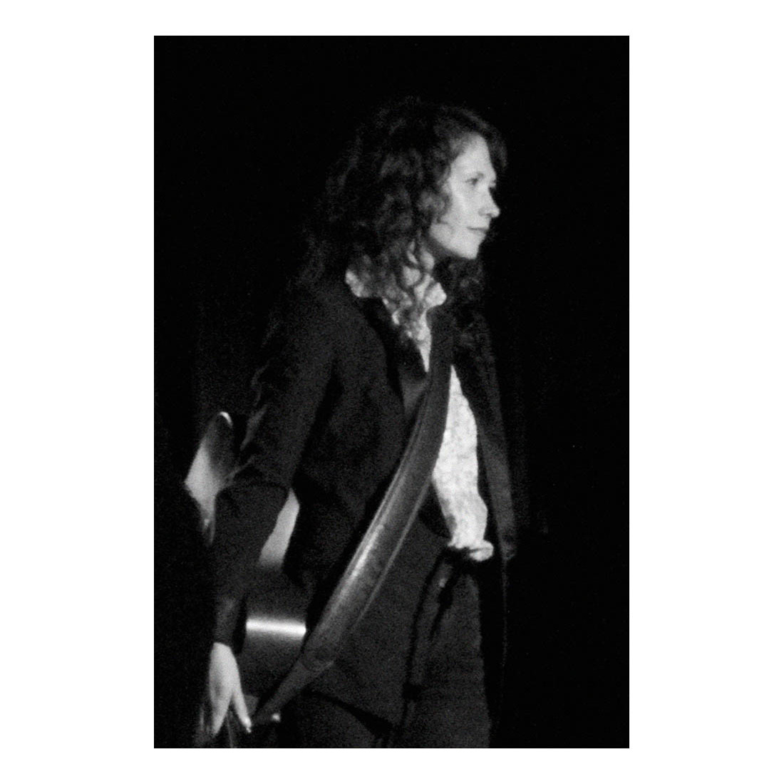 Sarah Lee Guthrie, Woden, ACT, 2013    Sarah Lee Guthrie was performing with her father, Arlo, in Woden, Canberra. I was surprised to notice a strong resemblance to her grandfather, Woody Guthrie, similar angles in her face.