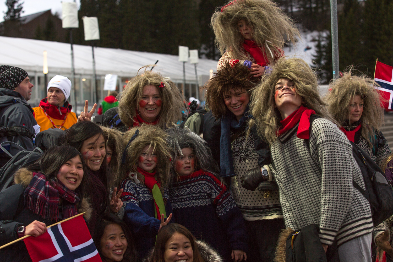 Norwegian Trolls and Japanese tourists.