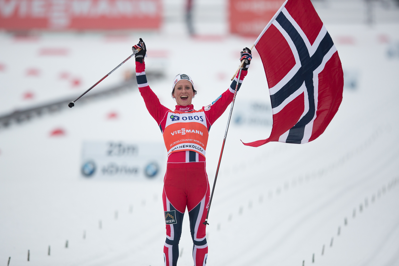 The winner. Marit Bjørgen