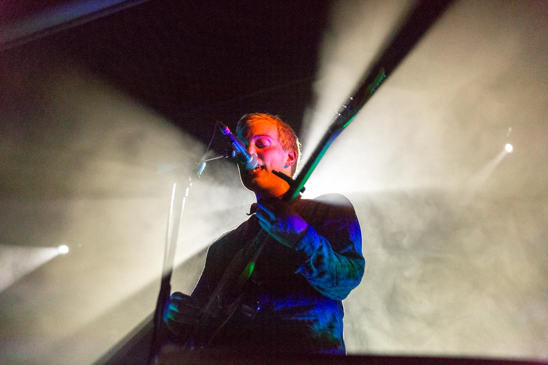 Singer and guitarist, Fredrik William Olsen