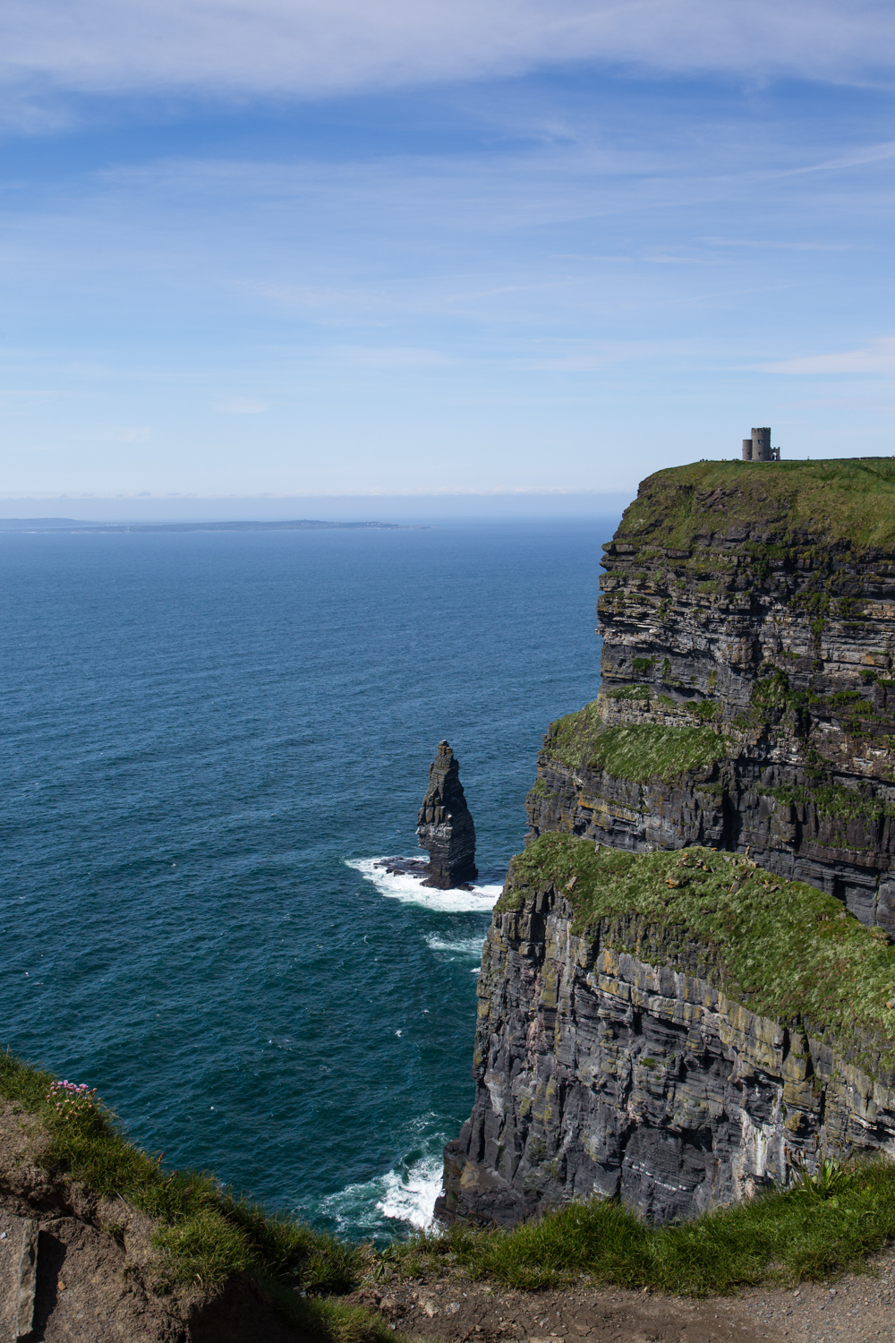 The Cliffs of Moher, The Stack and O'Brien's Tower