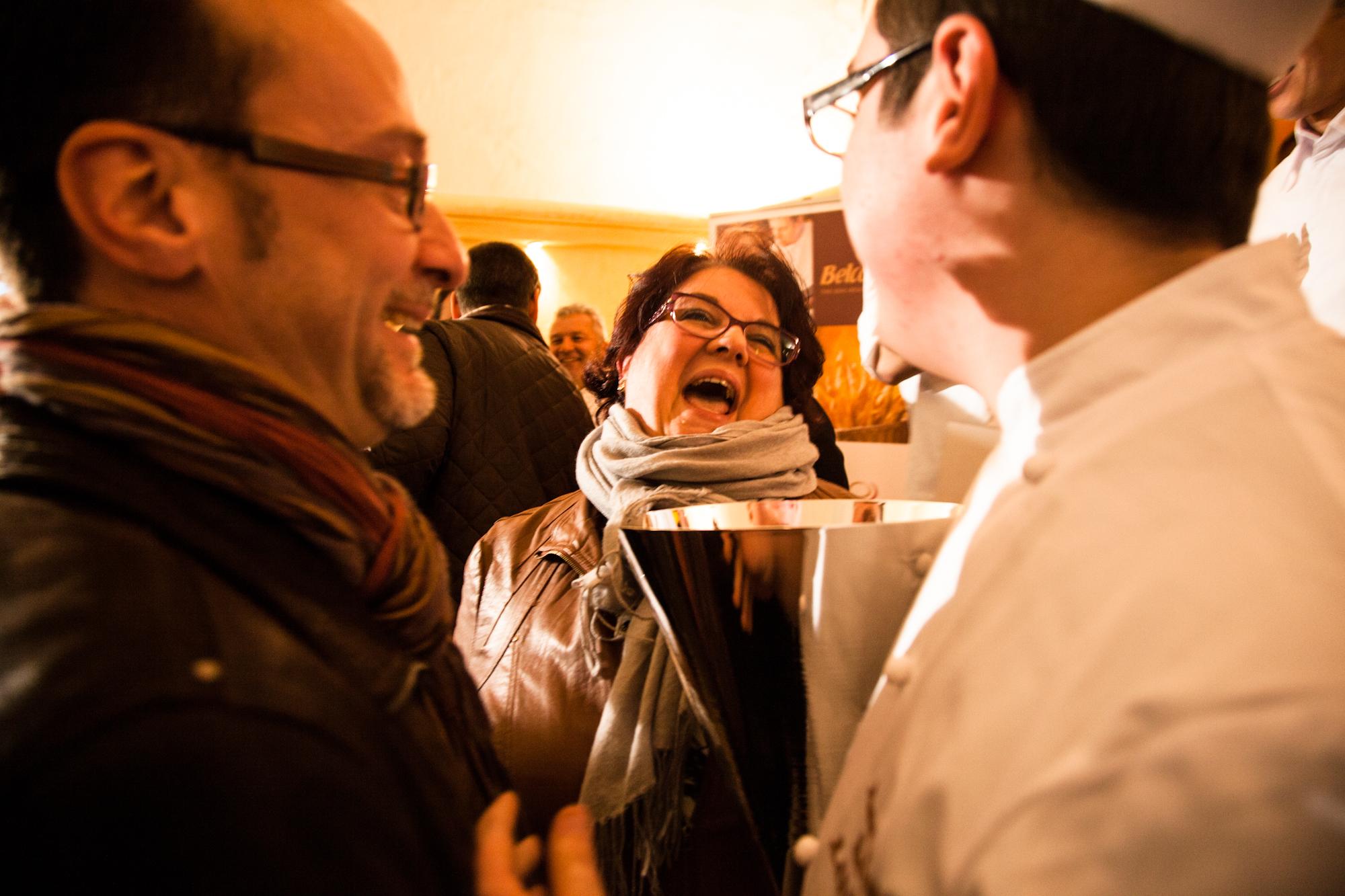 Les parents de Maxime Raiffe, après l'annonce des résultats.