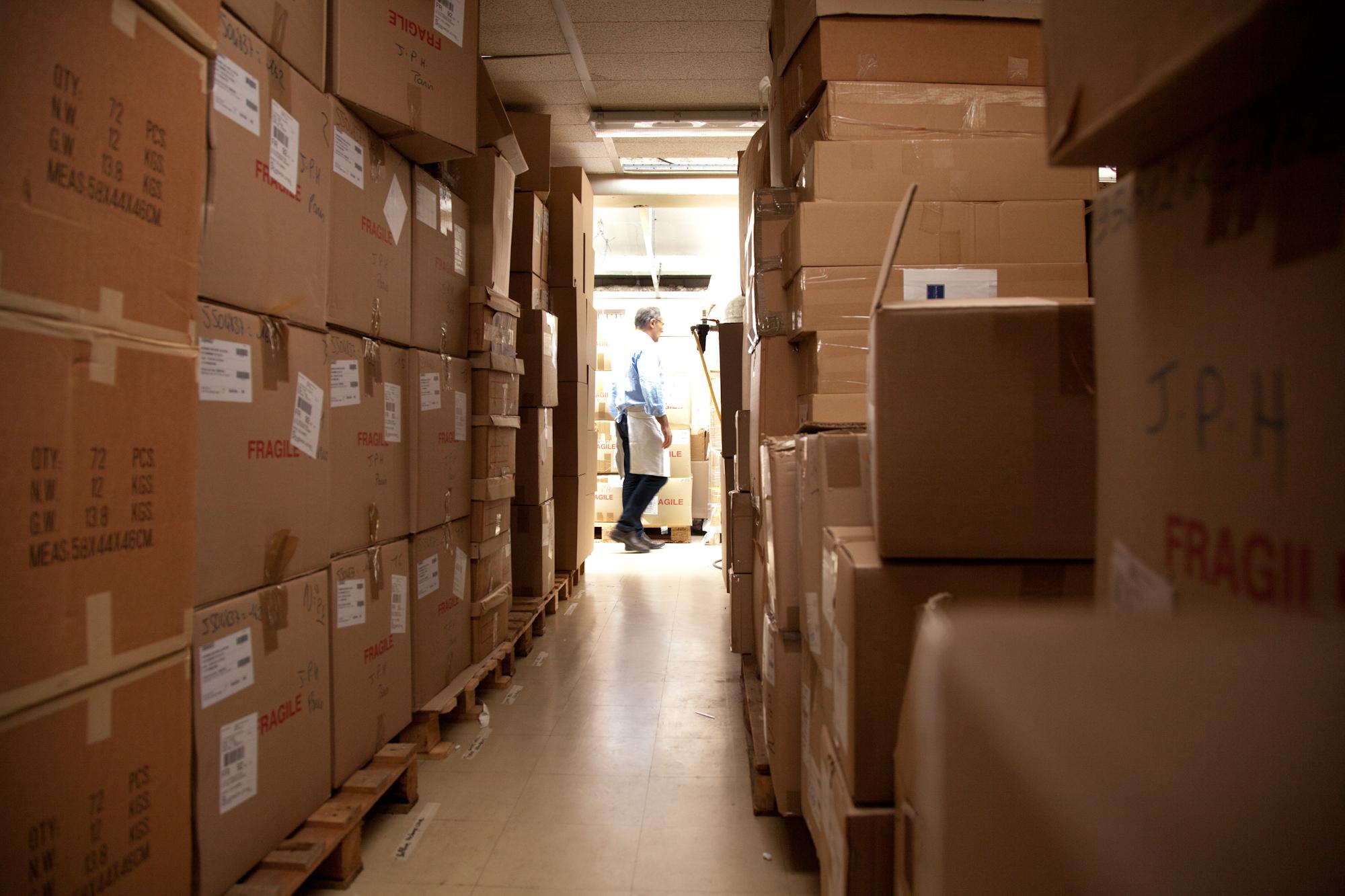 50% du chiffre d'affaires japonais est réalisé pendant cette période. Les emballages et la logistique de transport sont essentiels. © T.Caron