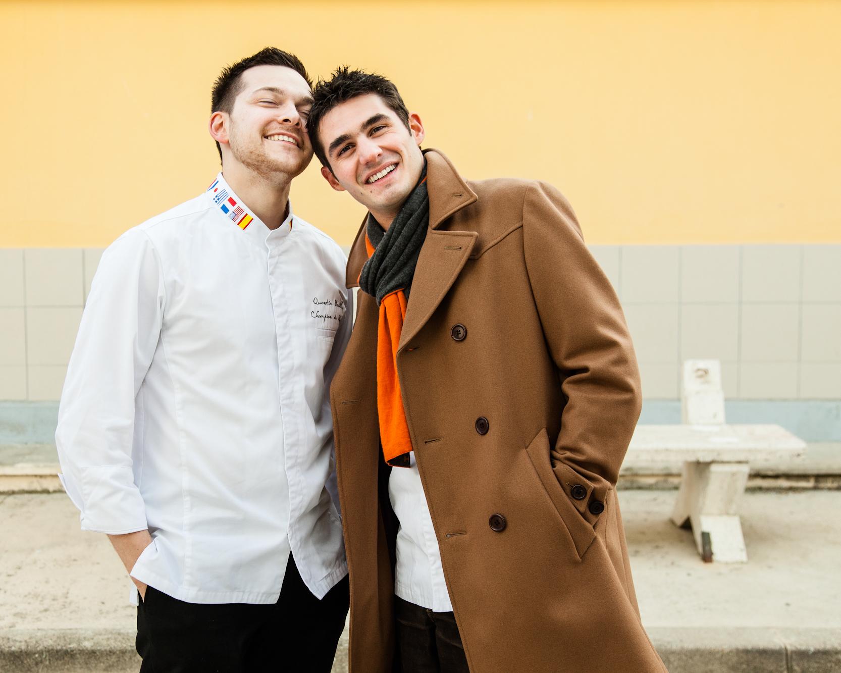 Quentin Bailly et Jérôme de Oliveira, Le Castellet. © T.Caron