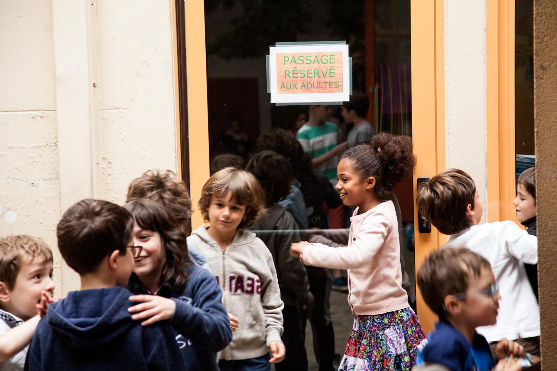 Récréation. École aujourd'hui, Paris.  Commande pour Télérama.