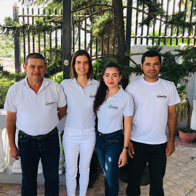 Cosecha Partner's technical team (Wiwili, Jinotega)