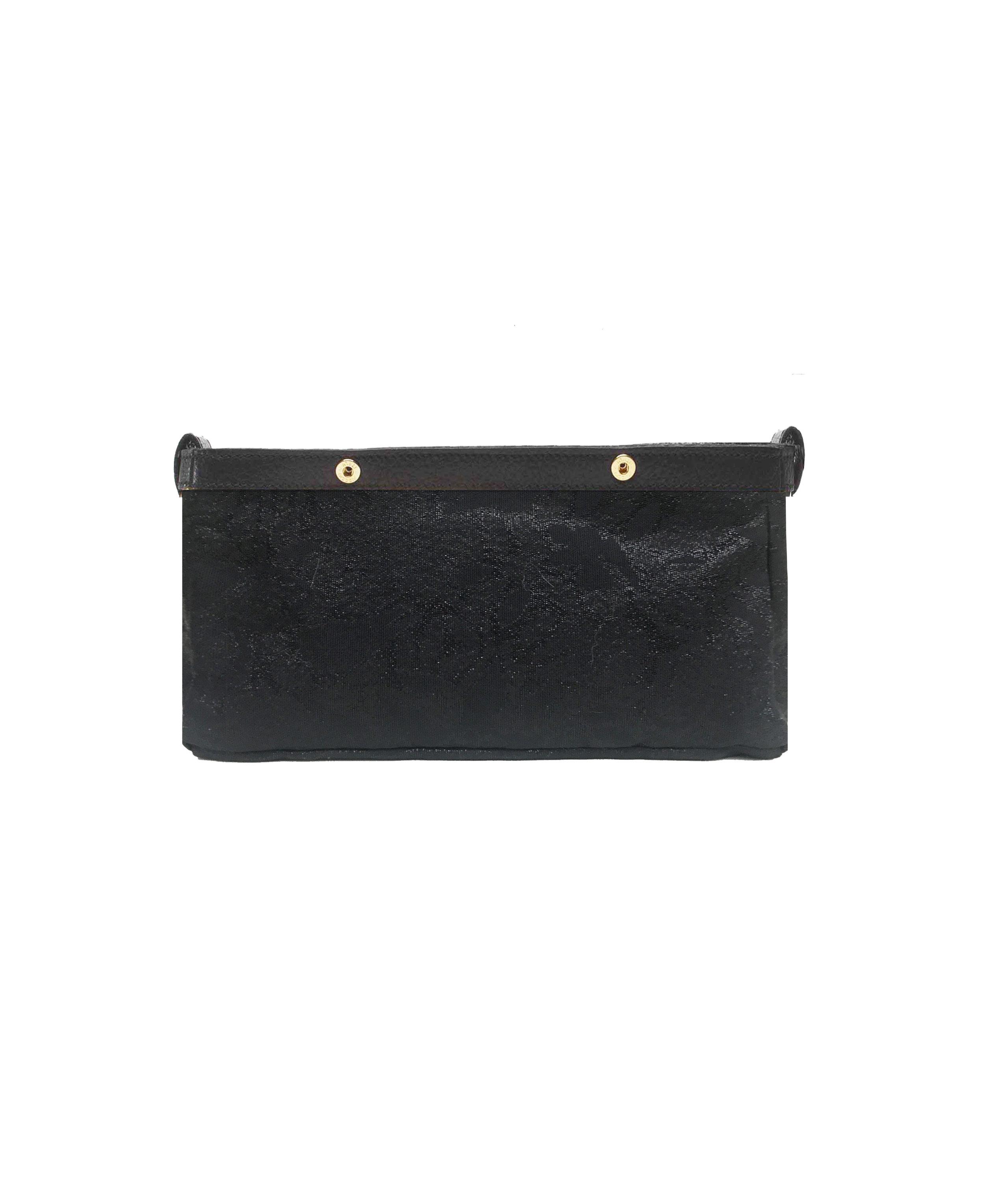Be Fuller Clutch - Black Inner bag