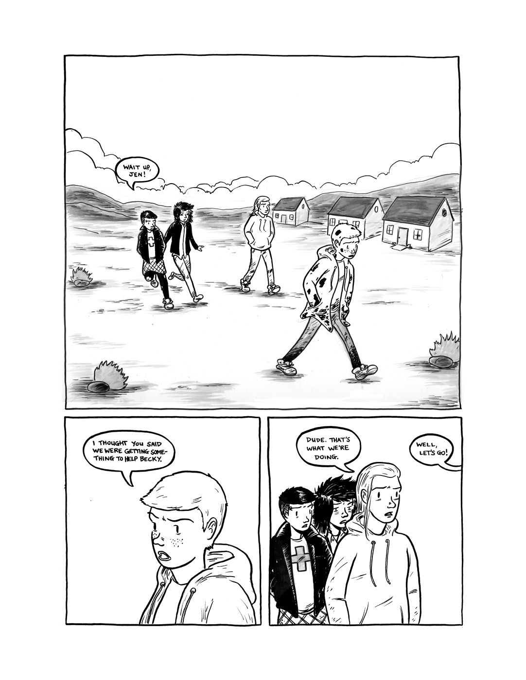 Shadow Hills 6 pages