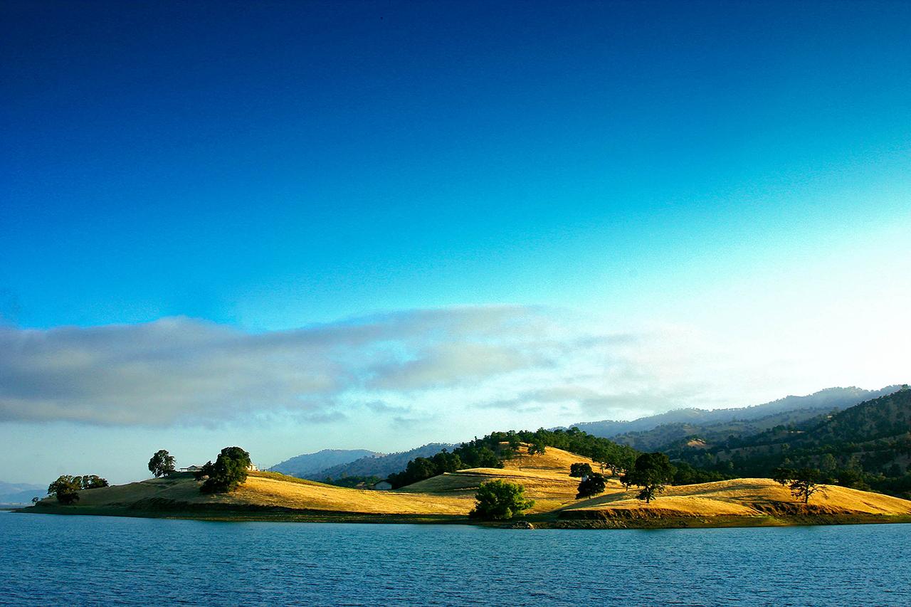 Dawn, Lake Berryessa, California