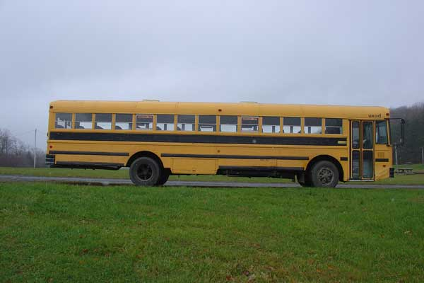 Original bus side view
