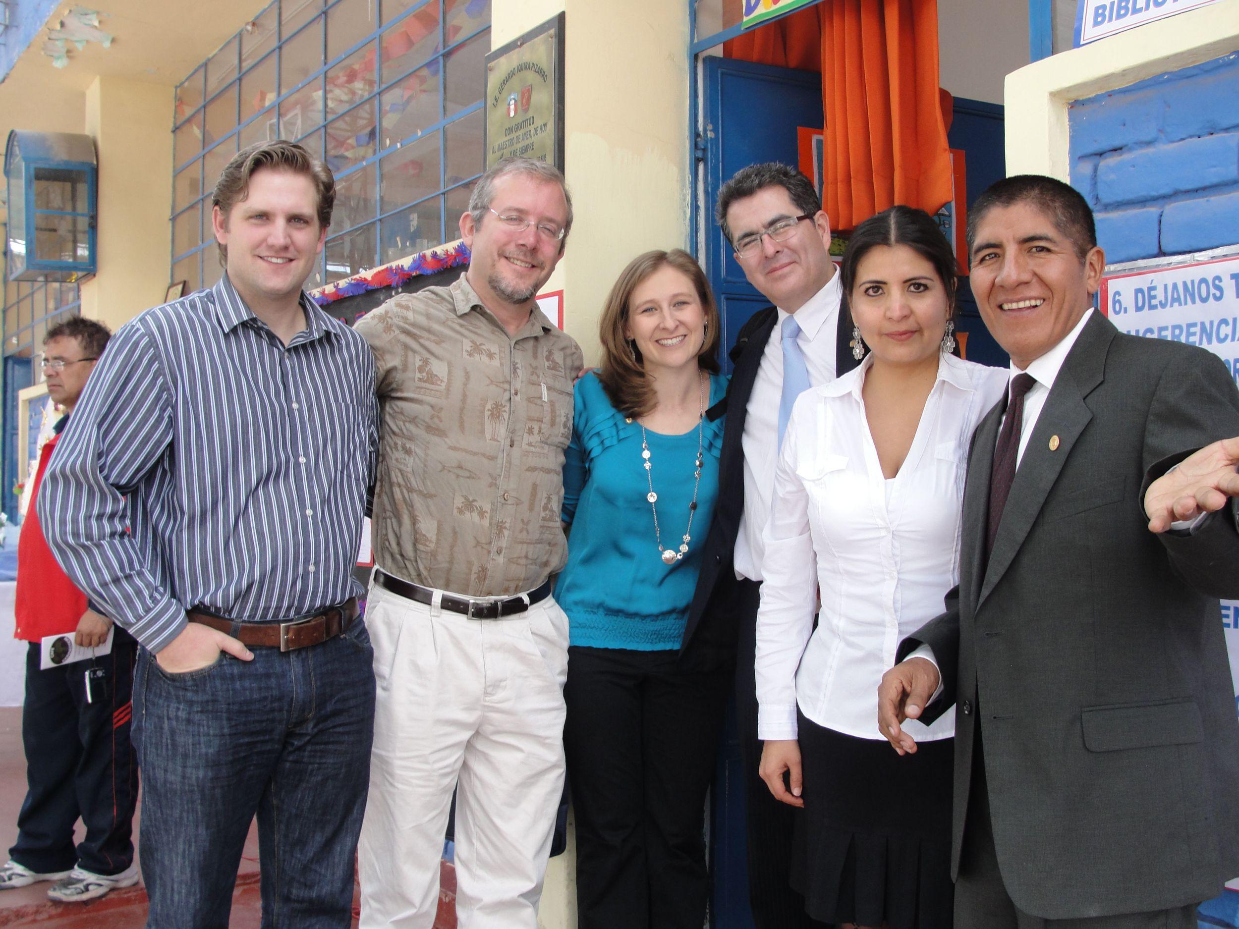 David Fann with the CUDA staff (Greg, David, Megan, Alfredo, Lucia, Abraham)