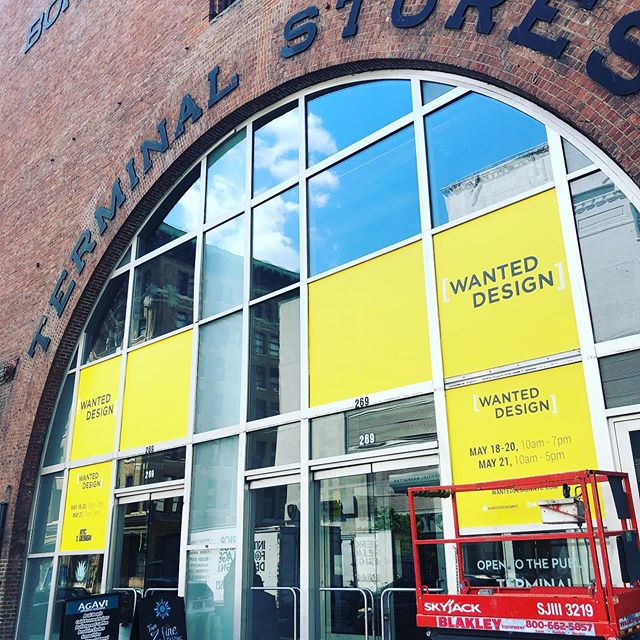 Recap of the week... @wanteddesign @industrycity #designweek #floorwrap #studiolife #museumgraphics #workharder