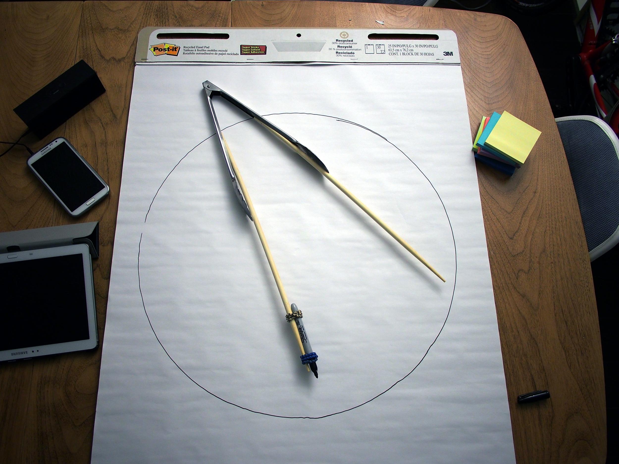 363/365 - DIY Perfect circle