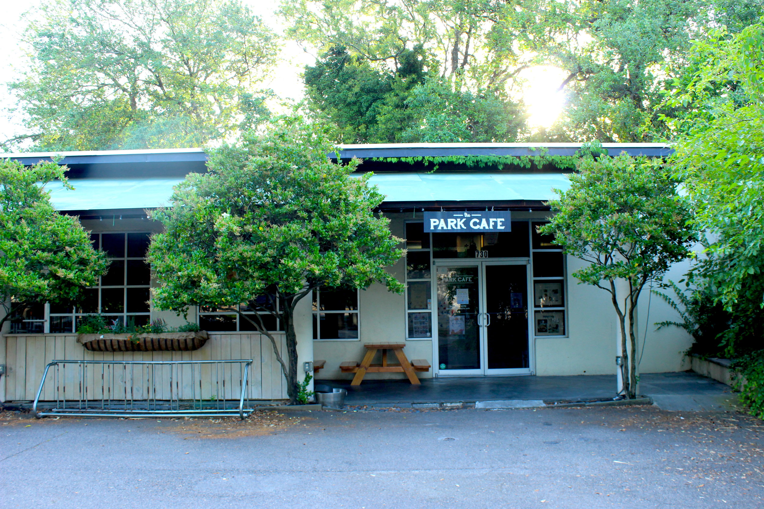 The Park Cafe, May 2019.
