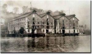 The H.E. Pogue Distillery established in 1876.