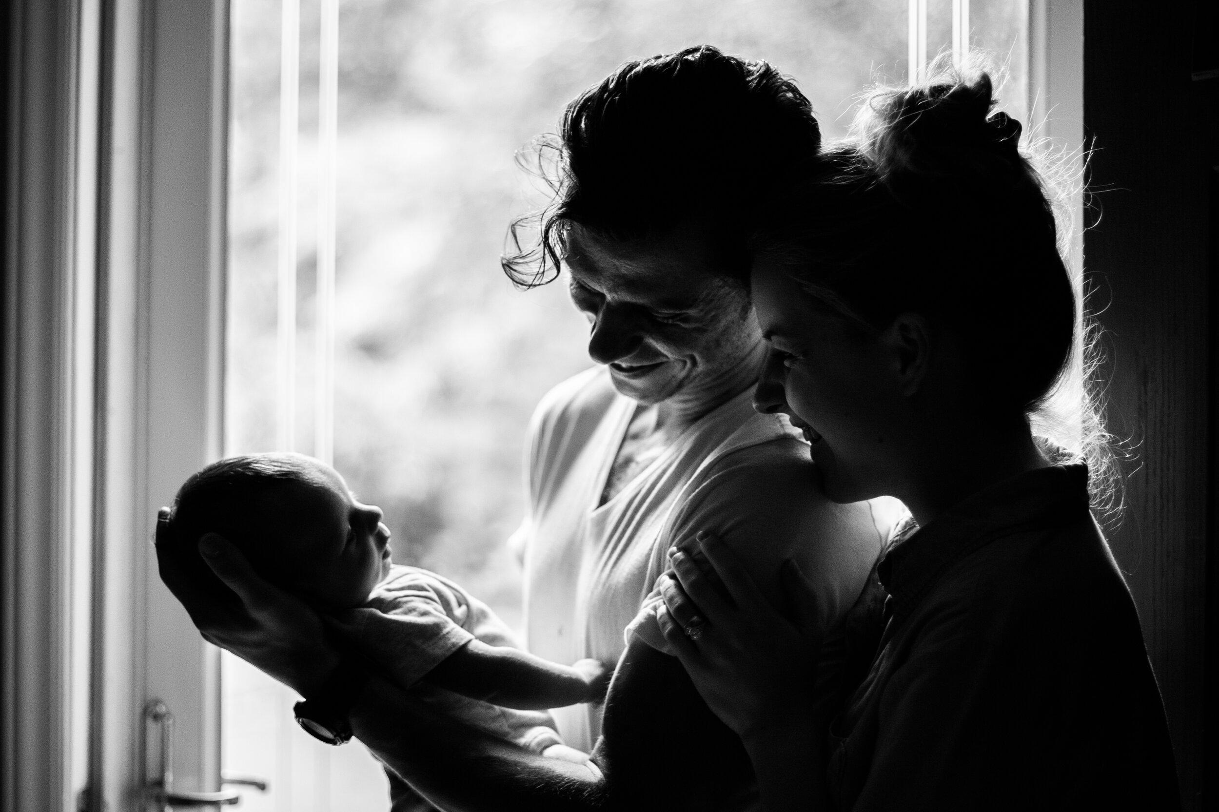 Charlotte Newborn Lifestyle Photography