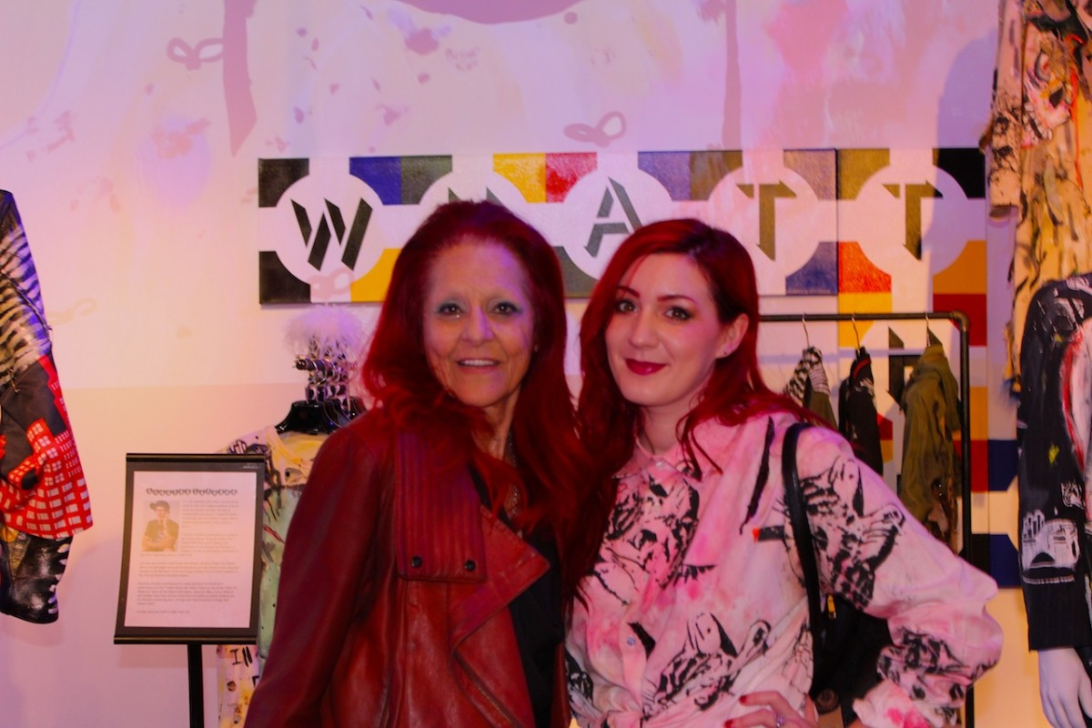 Patricia Field and artist Darian Brenner – photo by Adam Lehrer for Forbes