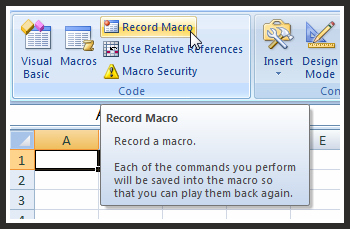 LESSON THREE: Using The Macro Recorder — The Spreadsheet Guru