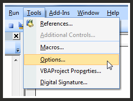 Remove VBE Error Alerts in Microsoft Excel Writing Macros
