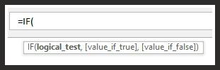 IF Function Excel Formula