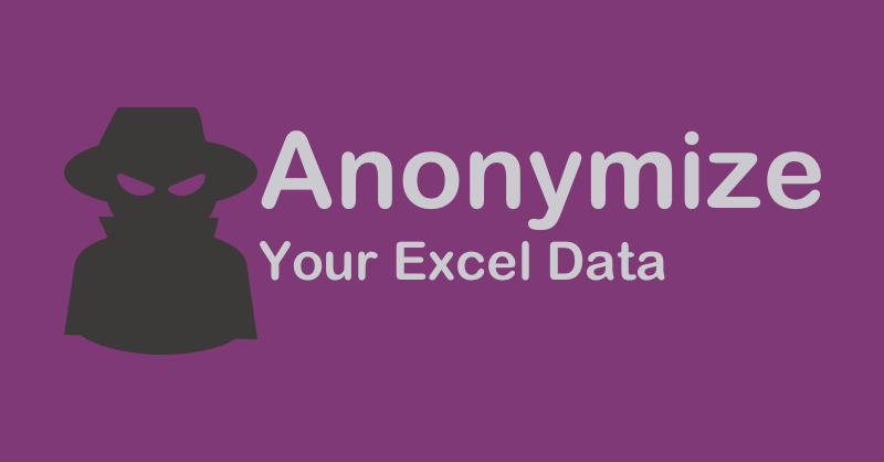 Partially Anonymous String Formula Anonymize Microsoft Excel Data