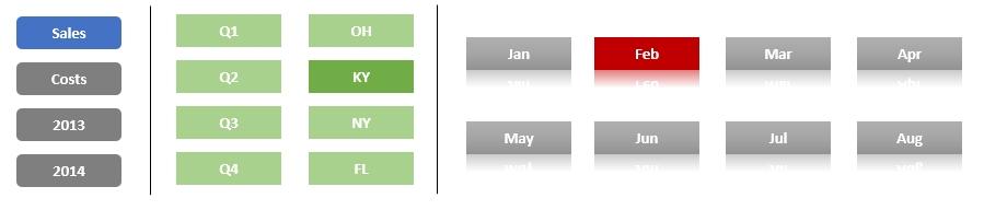 Custom Buttons for Excel Worksheet Tab Filtering