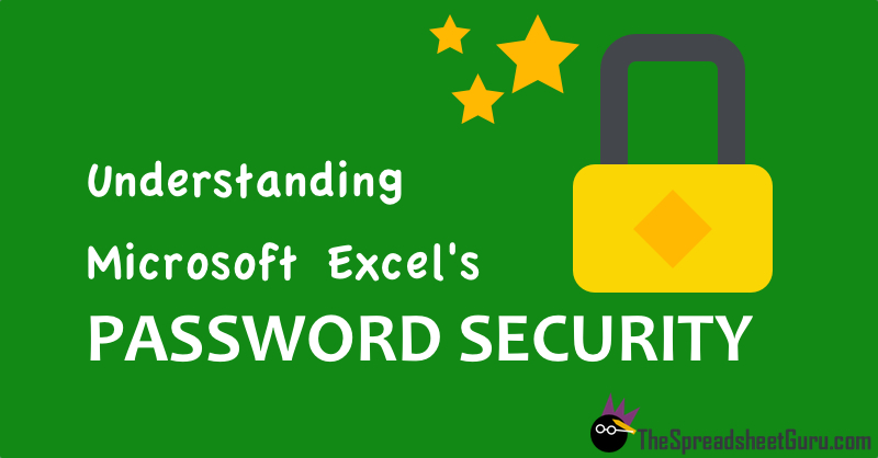 How Microsoft Excel Protects Worksheets and Worbooks