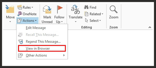 How To Run Animated GIF images in Outlook 2007, 2010, & 2013
