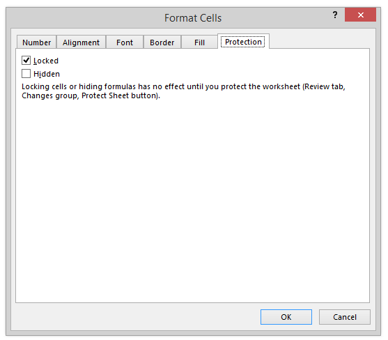 Setting The Proper Password Protection Using VBA Coding — The