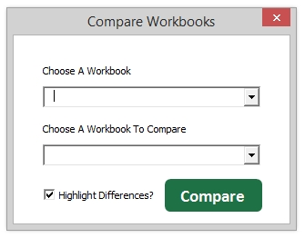 Compare Excel Workbooks