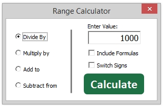 Range Calculator