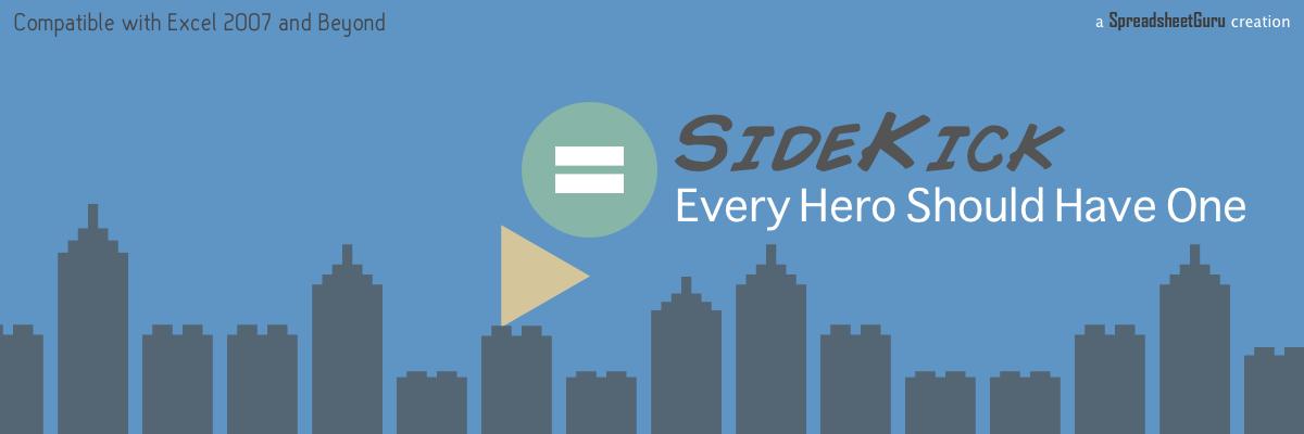 SideKick Excel Add-in Range Calculator