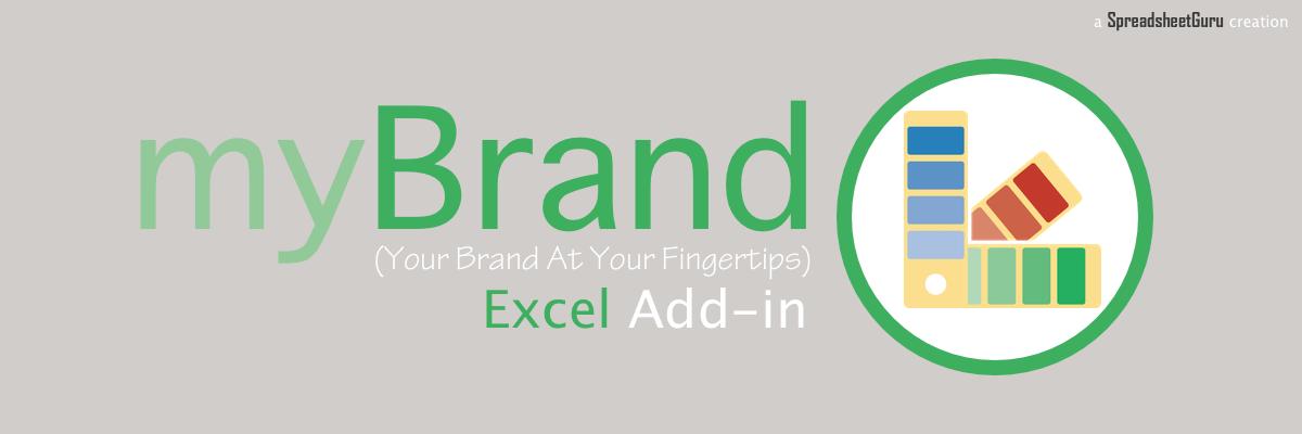myBrand Microsoft Branding Format Add-in Tool