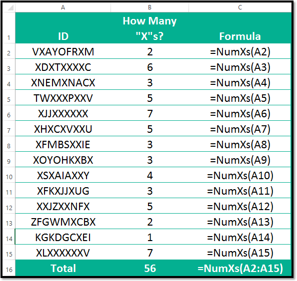 Create Custom Excel Functions For Formula Bar