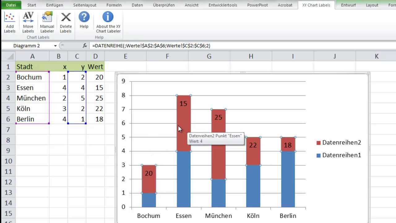 X-Y Chart Labeler Excel Add-in